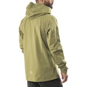63e43c7a Bergans Eidfjord Jacket Men khaki green/black/seaweed   Gode tilbud ...
